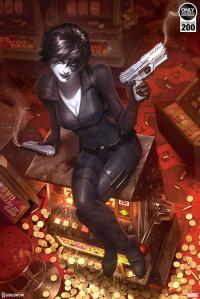 Gallery Image of Domino Luck Be a Lady Art Print