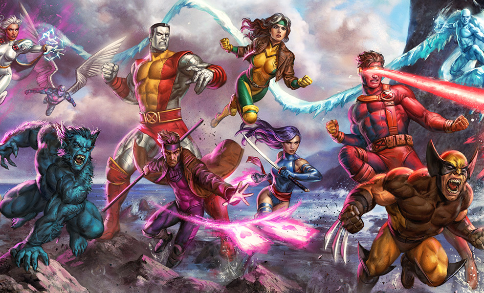 Gallery Feature Image of X-Men: A Legend Reborn Art Print - Click to open image gallery