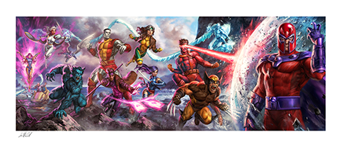 Sideshow Collectibles X-Men: A Legend Reborn Art Print