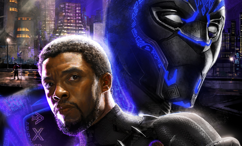 Gallery Feature Image of Black Panther Art Print - Click to open image gallery