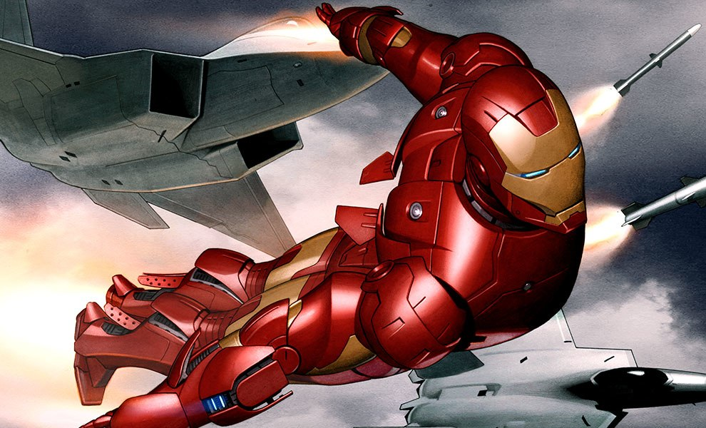 Gallery Feature Image of Iron Man Mark III Art Print - Click to open image gallery