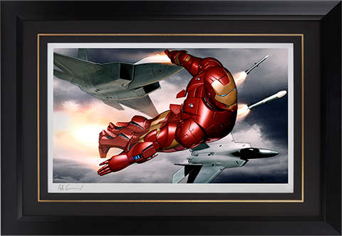 Sideshow Collectibles Iron Man Mark III Art Print