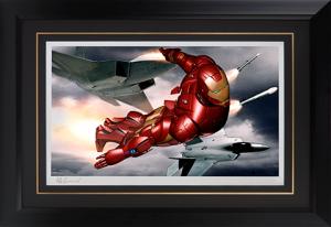 Iron Man Mark III Art Print