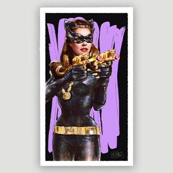 Catguns Art Print