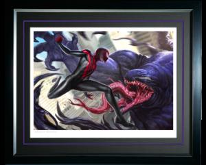 Spider-Man Miles Morales Art Print