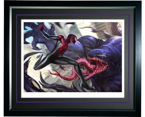 Sideshow Collectibles Spider-Man Miles Morales Art Print
