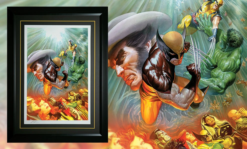 Gallery Feature Image of The Death of Wolverine Art Print - Click to open image gallery