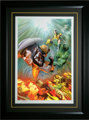The Death of Wolverine Art Print
