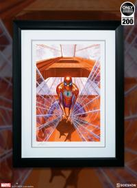 Gallery Image of Spider-Man Trouble in San Francisco Art Print