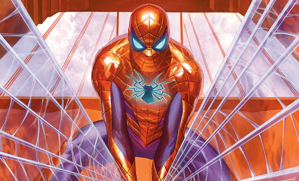 Gallery Feature Image of Spider-Man Trouble in San Francisco Art Print - Click to open image gallery