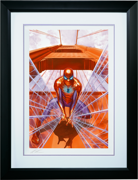 Alex Ross Art Spider-Man Trouble in San Francisco Art Print