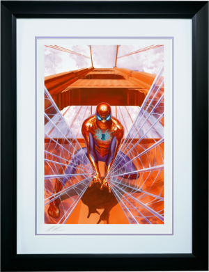 Spider-Man Trouble in San Francisco Art Print