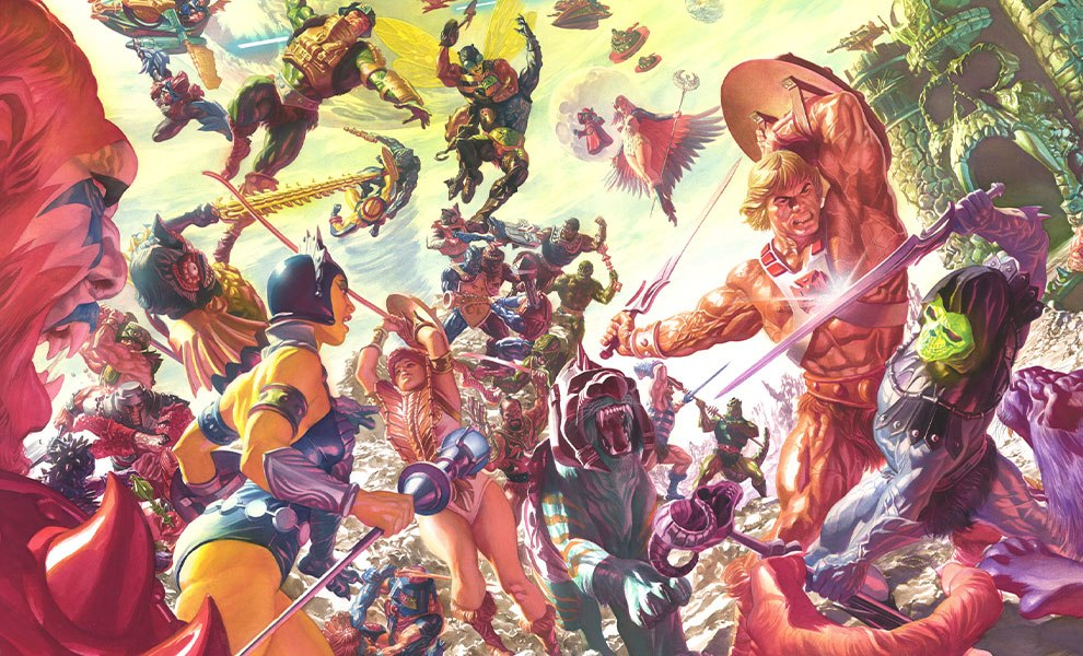 Gallery Feature Image of Masters of the Universe Art Print - Click to open image gallery