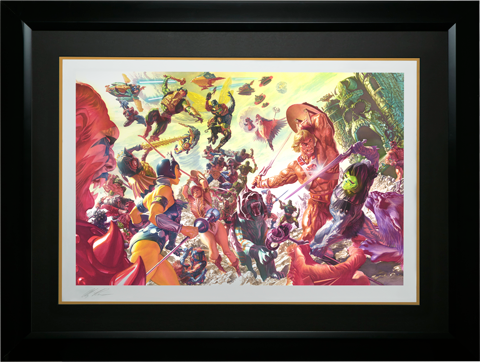 Alex Ross Art Masters of the Universe Art Print