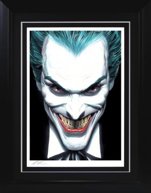 The Joker Portraits of Villainy Art Print