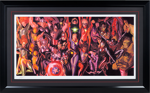 Alex Ross Art Marvel Generations Art Print