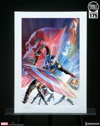 Gallery Image of Captain America 600 Art Print