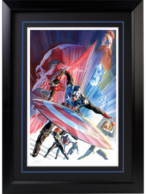 Captain America 600 Art Print