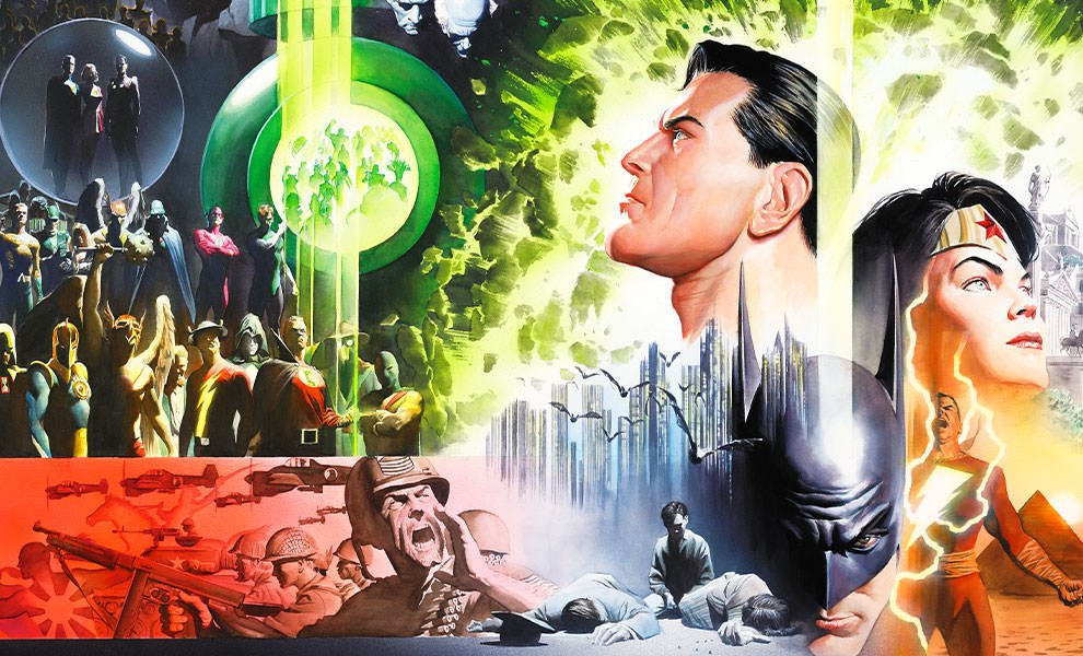Gallery Feature Image of History of the DC Universe Art Print - Click to open image gallery