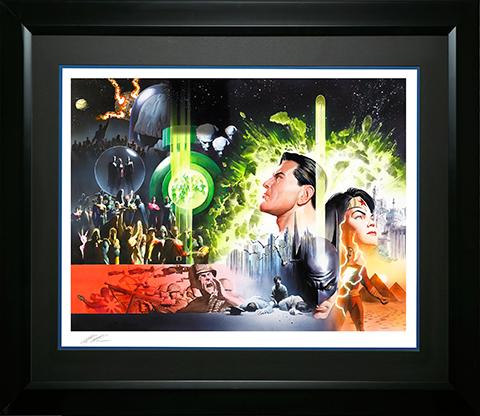 Alex Ross Art History of the DC Universe Art Print