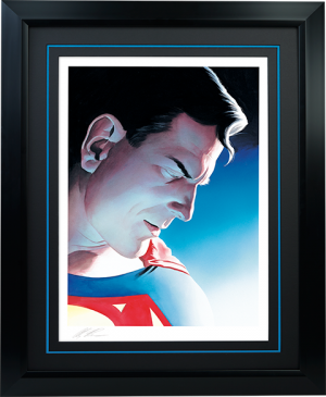 Superman Peace on Earth Art Print