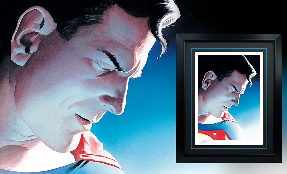 Gallery Feature Image of Superman Peace on Earth Art Print - Click to open image gallery