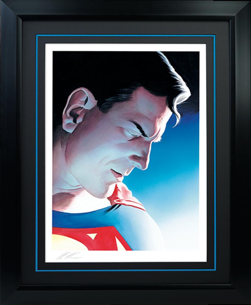 Superman Peace on Earth Art Print -