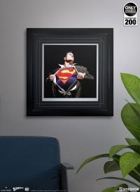 Gallery Image of The Man of Steel Art Print