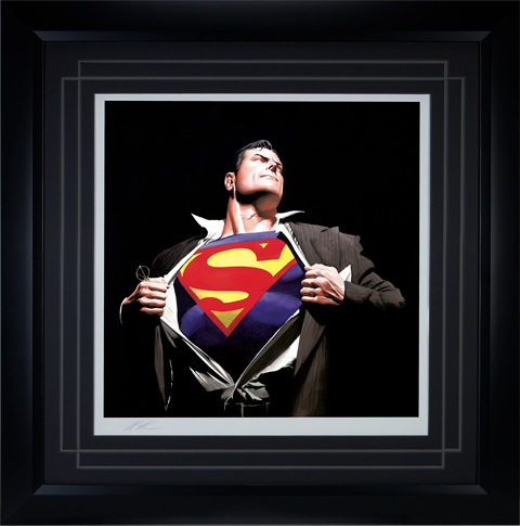 Alex Ross Art The Man of Steel Art Print