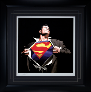 The Man of Steel Art Print