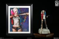 Gallery Image of Harley Quinn Batter Up Art Print