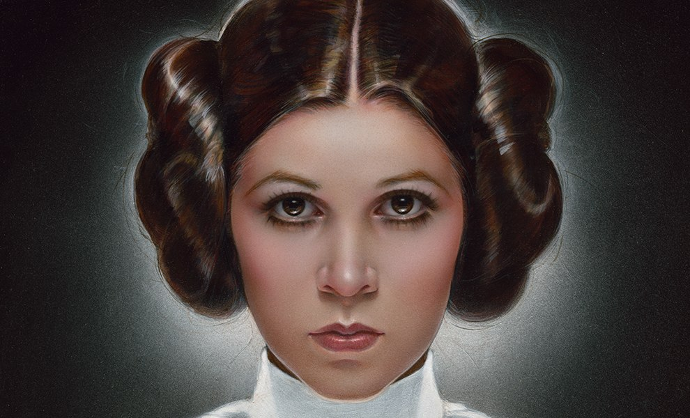 Gallery Feature Image of Leia Princess of Alderaan Art Print - Click to open image gallery