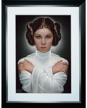 Leia Princess of Alderaan Art Print