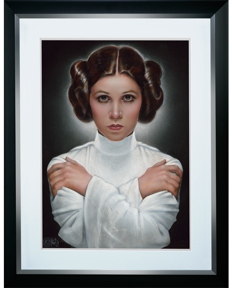 ACME Archives Leia Princess of Alderaan Art Print