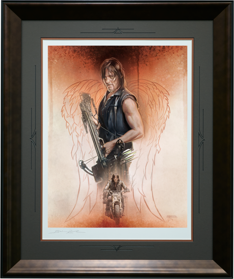 Brian Rood The Drifter Art Print