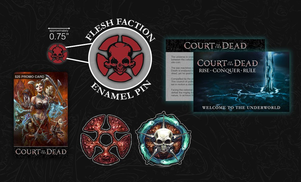 Gallery Feature Image of Flesh Faction - Allegiance Kit Miscellaneous Collectibles - Click to open image gallery