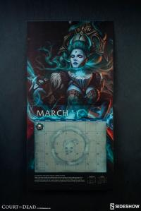 Gallery Image of Court of the Dead 2019 Deluxe Wall Calendar Miscellaneous Collectibles