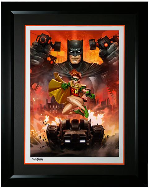 Sideshow Collectibles Batman The Dark Knight Returns Art Print