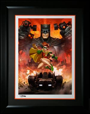 Batman The Dark Knight Returns Art Print