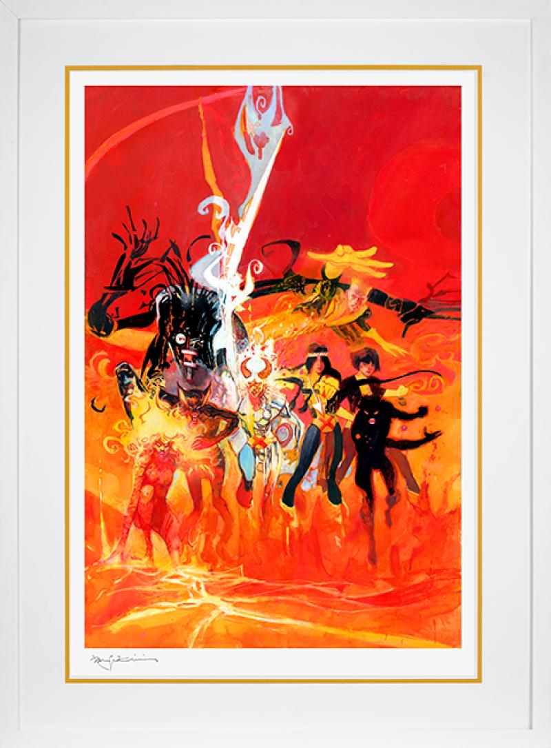New Mutants Art Print -