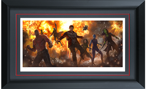 Sideshow Collectibles Guardians of the Galaxy Vol 2 Art Print
