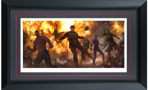 Guardians of the Galaxy Vol 2 Art Print