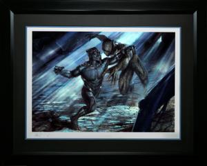 Black Panther vs Erik Killmonger Art Print