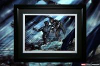 Gallery Image of Black Panther vs Erik Killmonger Art Print