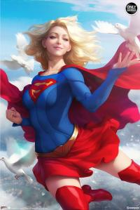 Gallery Image of Supergirl Art Print