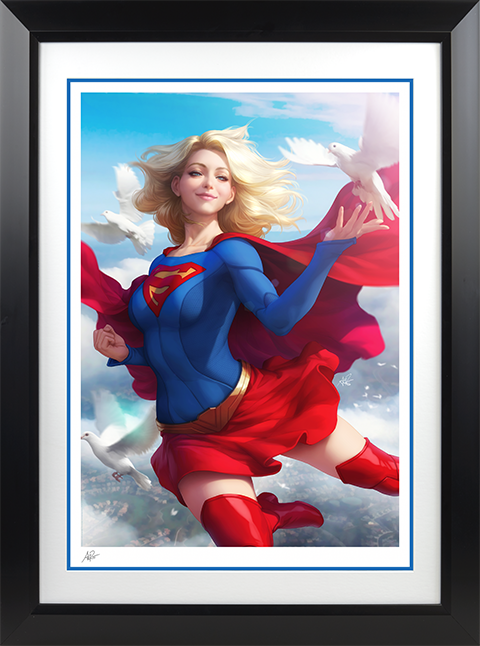 Sideshow Collectibles Supergirl Art Print