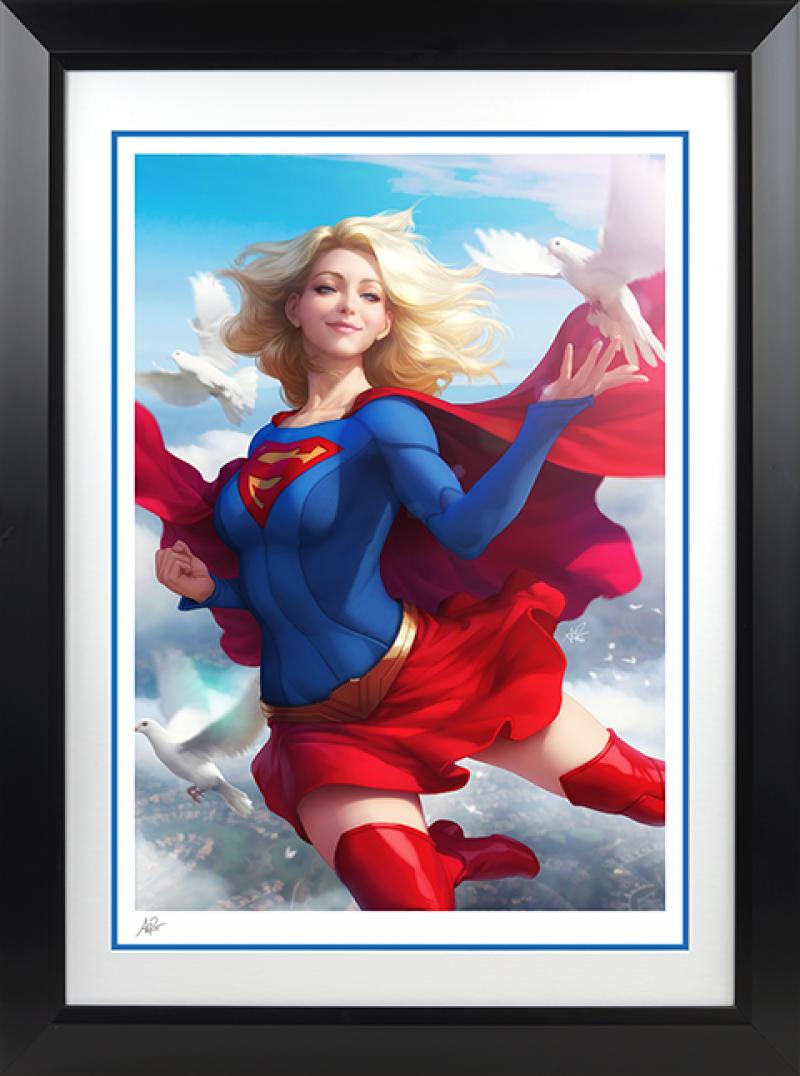 Supergirl Art Print -