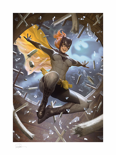 Sideshow Collectibles Batgirl Art Print