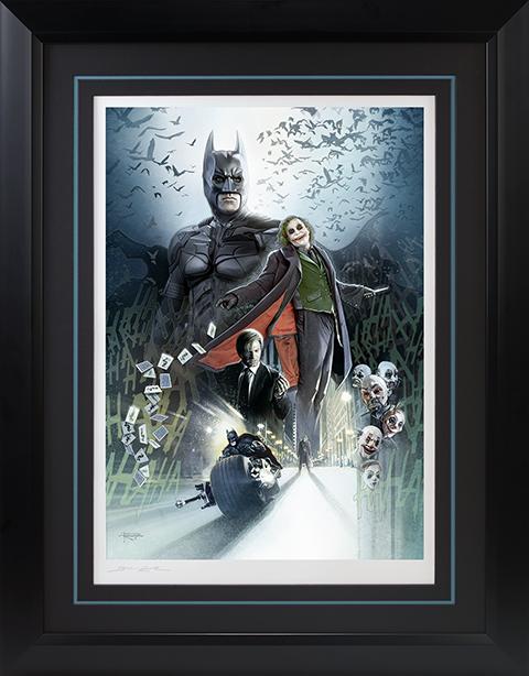 Brian Rood Batman The Dark Knight Art Print