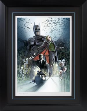 Batman The Dark Knight Art Print